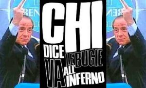 Berlusconi bugie